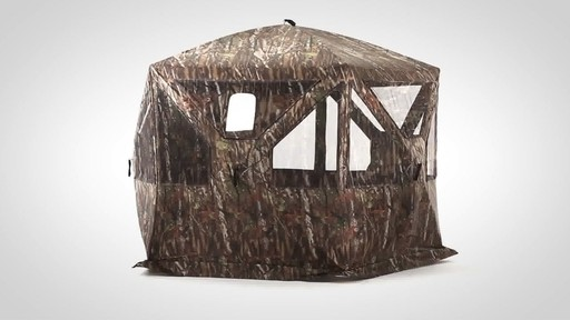 Guide Gear 5-Sided Ground Hunting Blind - image 9 from the video