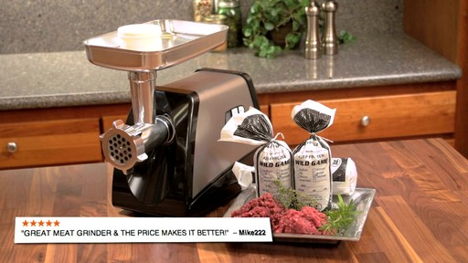Guide Gear Electric Meat Grinder 575 Watt - image 10 from the video