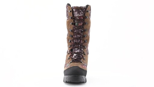 Guide Gear Giant Timber II Men's 1400 Gram Insulated Waterproof Hunting Boots Mossy Oak 360 View - image 10 from the video