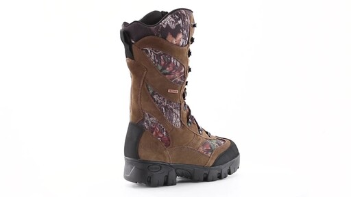 Guide Gear Giant Timber II Men's 1400 Gram Insulated Waterproof Hunting Boots Mossy Oak 360 View - image 3 from the video