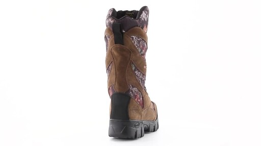 Guide Gear Giant Timber II Men's 1400 Gram Insulated Waterproof Hunting Boots Mossy Oak 360 View - image 4 from the video