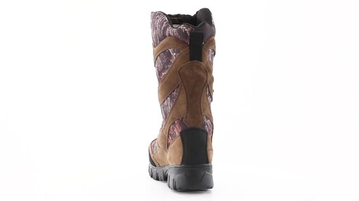 Guide Gear Giant Timber II Men's 1400 Gram Insulated Waterproof Hunting Boots Mossy Oak 360 View - image 5 from the video