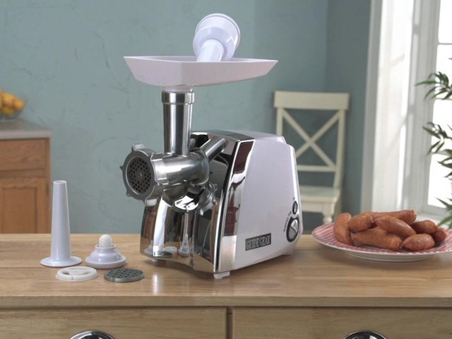 Guide Gear® 650W Electric Meat Grinder - image 1 from the video