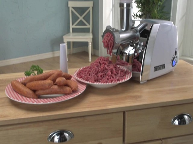 Guide Gear® 650W Electric Meat Grinder - image 10 from the video