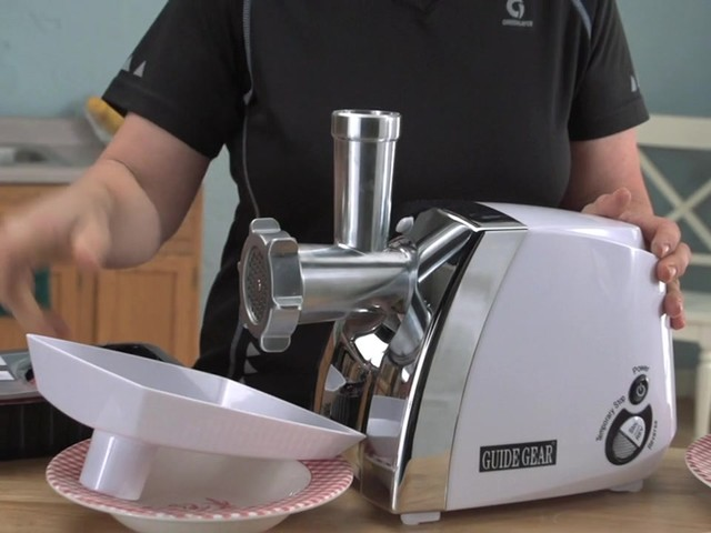 Guide Gear® 650W Electric Meat Grinder - image 2 from the video