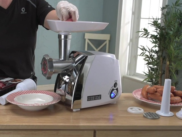 Guide Gear® 650W Electric Meat Grinder - image 7 from the video