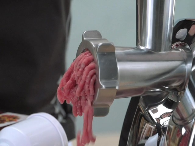 Guide Gear® 650W Electric Meat Grinder - image 8 from the video