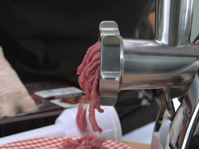 Guide Gear® 650W Electric Meat Grinder - image 9 from the video