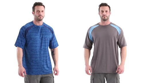 Guide Gear Men's Performance Fishing Short Sleeve Shirt 360 View - image 1 from the video