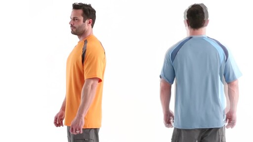 Guide Gear Men's Performance Fishing Short Sleeve Shirt 360 View - image 7 from the video