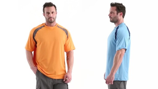 Guide Gear Men's Performance Fishing Short Sleeve Shirt 360 View - image 9 from the video