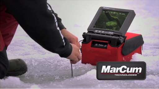 Marcum vs825sd underwater camera sportsman 39 s guide video for Marcum ice fishing