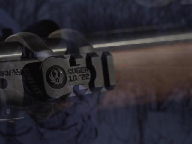 Ruger 10 22 Laser Sight 187 Sportsman S Guide Video