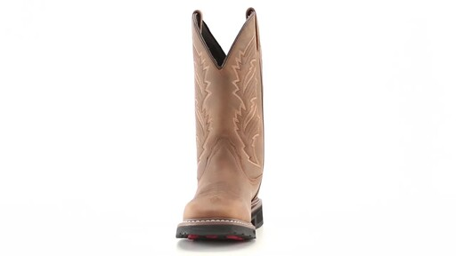 Guide Gear Men's Square Toe Pull-On Western Boots 360 View - image 2 from the video
