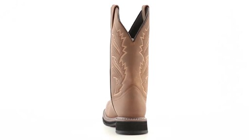 Guide Gear Men's Square Toe Pull-On Western Boots 360 View - image 7 from the video