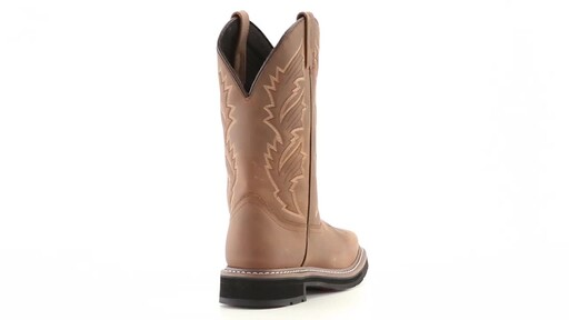 Guide Gear Men's Square Toe Pull-On Western Boots 360 View - image 8 from the video