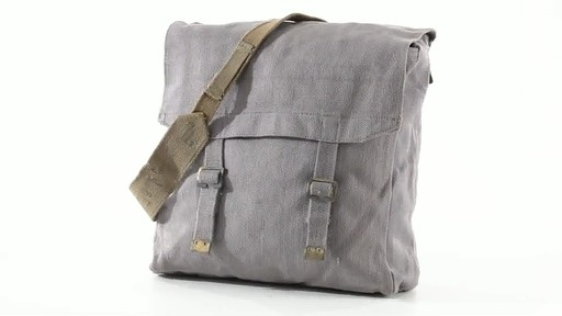 British Military Surplus M37 Canvas Pack Used 360 View - image 1 from the video