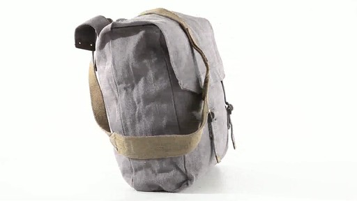 British Military Surplus M37 Canvas Pack Used 360 View - image 4 from the video