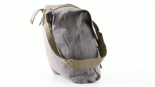 British Military Surplus M37 Canvas Pack Used 360 View - image 5 from the video
