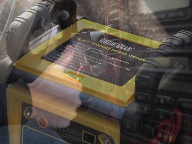 Guide Gear® 6-in-1 Jumpstarter and Powerpack - image 3 from the video