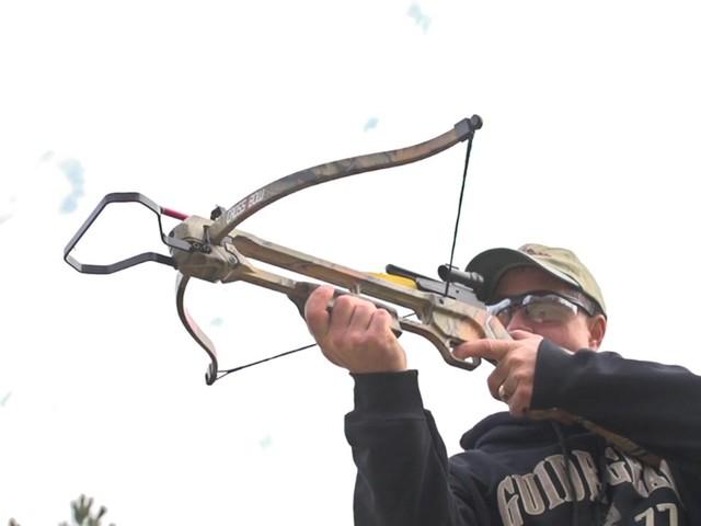 150 - lb. Recurve Camo Crossbow » Sportsman's Guide Video