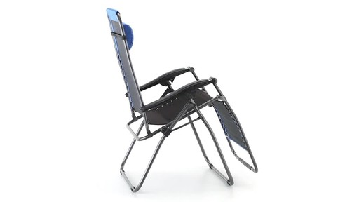 Guide Gear Oversized 500 lb. Zero Gravity Chair Blue 360 View - image 4 from the video