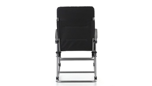 Guide Gear Oversized Rocking Camp Chair 500 lb. Capacity Mossy Oak Break Up Country 360 View - image 10 from the video