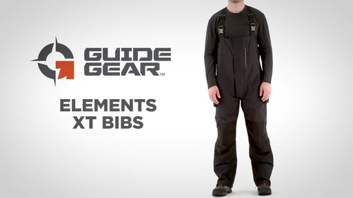 Guide Gear Men's Elements XT Bibs - image 1 from the video