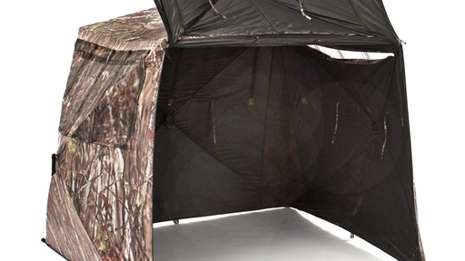Guide Gear Camo Flare Out 5-Hub Ground Blind - image 3 from the video
