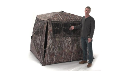 Guide Gear Camo Flare Out 5-Hub Ground Blind - image 8 from the video