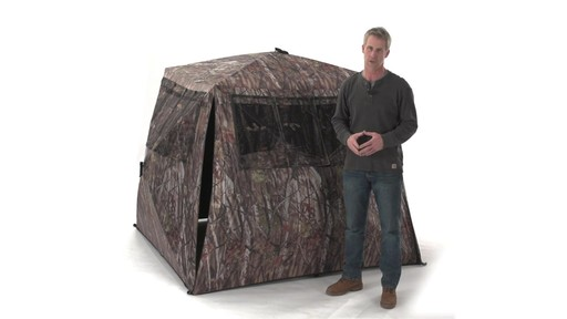 Guide Gear Camo Flare Out 5-Hub Ground Blind - image 9 from the video