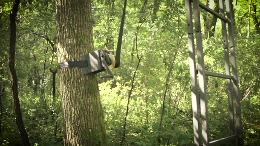Guide Gear Ladder Tree Stand Installation Hoist System - image 2 from the video