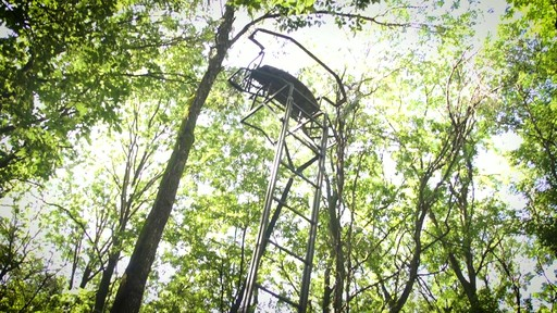 Guide Gear Ladder Tree Stand Installation Hoist System - image 7 from the video