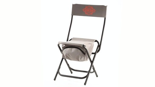 Guide Gear Folding Cooler Ice Fishing Chair 360 View - image 1 from the video