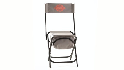 Guide Gear Folding Cooler Ice Fishing Chair 360 View - image 2 from the video