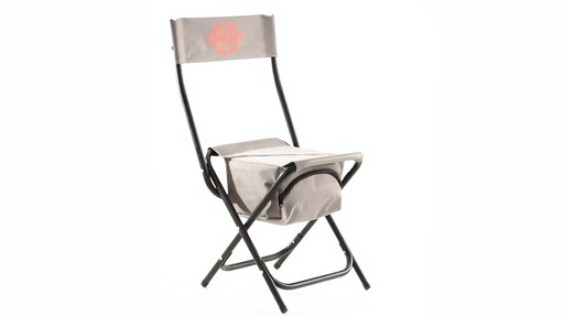 Guide Gear Folding Cooler Ice Fishing Chair 360 View - image 3 from the video