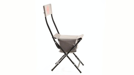 Guide Gear Folding Cooler Ice Fishing Chair 360 View - image 4 from the video
