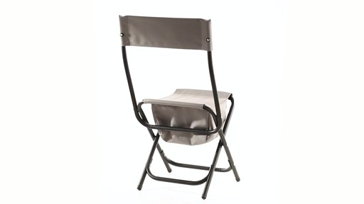 Guide Gear Folding Cooler Ice Fishing Chair 360 View - image 6 from the video