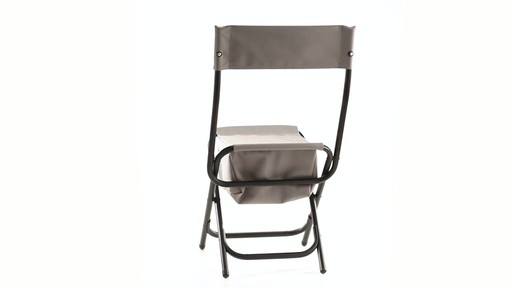 Guide Gear Folding Cooler Ice Fishing Chair 360 View - image 7 from the video