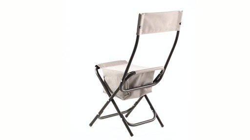 Guide Gear Folding Cooler Ice Fishing Chair 360 View - image 8 from the video