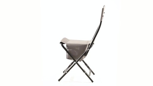 Guide Gear Folding Cooler Ice Fishing Chair 360 View - image 9 from the video