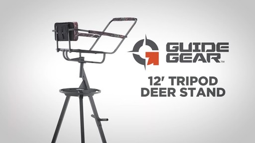 Guide Gear 12' Tripod Deer Stand - image 2 from the video