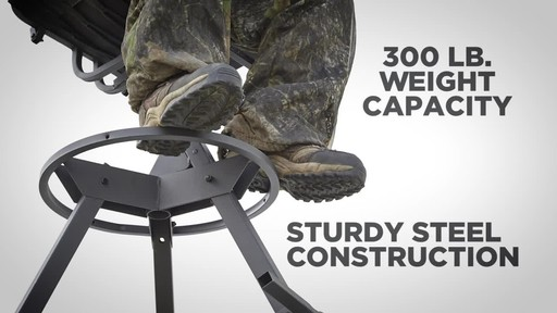 Guide Gear 12' Tripod Deer Stand - image 3 from the video