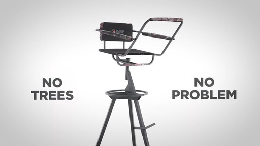 Guide Gear 12' Tripod Deer Stand - image 9 from the video