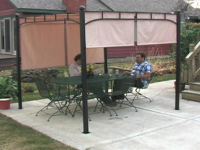 Castlecreek Pergola With Adjustable Shade 187 Sportsman S