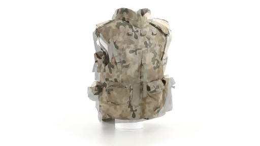 Polish NATO Military Surplus Flak Vest Used 360 View - image 5 from the video