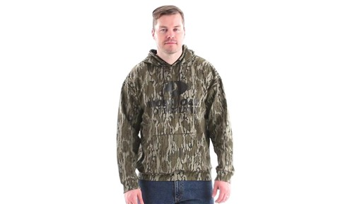 Guide Gear Men's Mossy Oak Bottomland Camo Hoodie 360 View - image 1 from the video