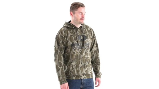 Guide Gear Men's Mossy Oak Bottomland Camo Hoodie 360 View - image 2 from the video