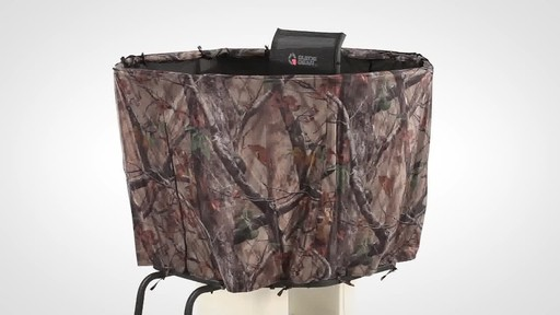 Guide Gear Half Hunting Blind For 20' Tripod - image 9 from the video