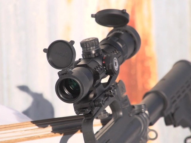 Barska® AR-15 1-4x28 SWAT-AR Tactical Scope - image 10 from the video
